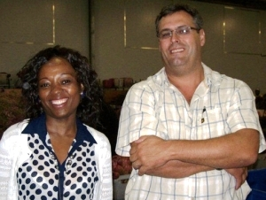 Flower Valley's Programme Assistant Londeka Zondi attended the PPSA/SAPPEX special annual general meeting, with Thys Basson, a member of the Sustainable Harvesting Steering Committee.