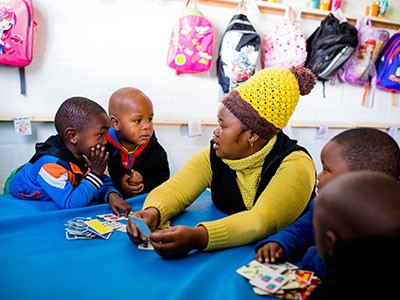 Early childhood support grows in Masakhane – thanks to partnerships