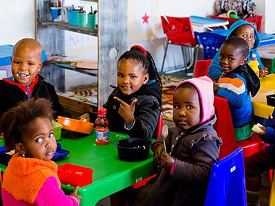 Bringing the Gansbaai community together for young children